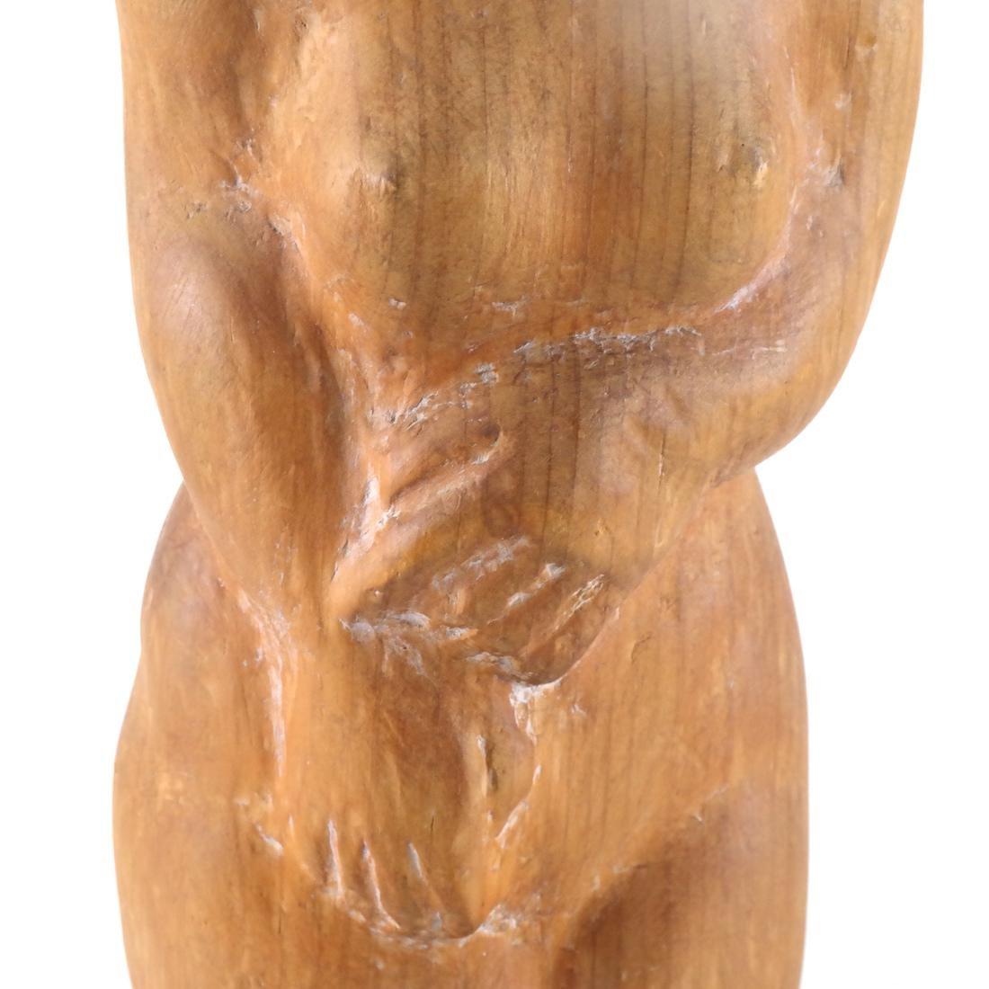 William Zorach-Type Wood Sculpture - 3
