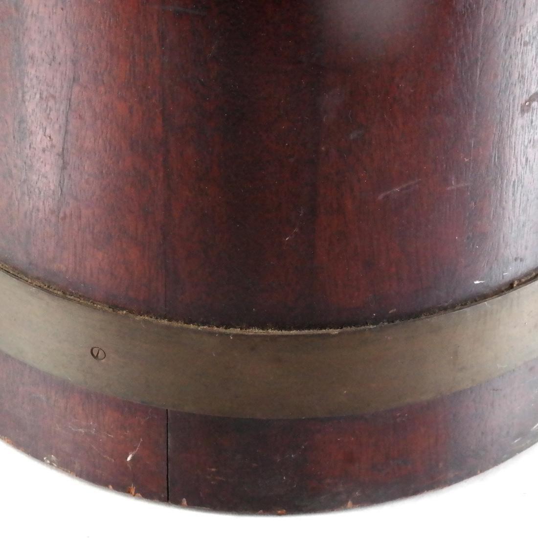 English Wood, Brass Umbrella Stand - 4