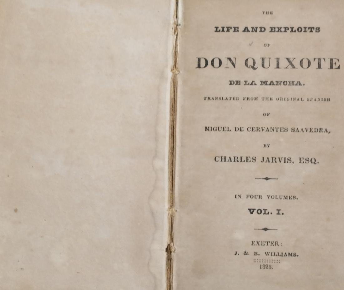 Jarvis, Don Quixote, 4 Leather Volumes - 2