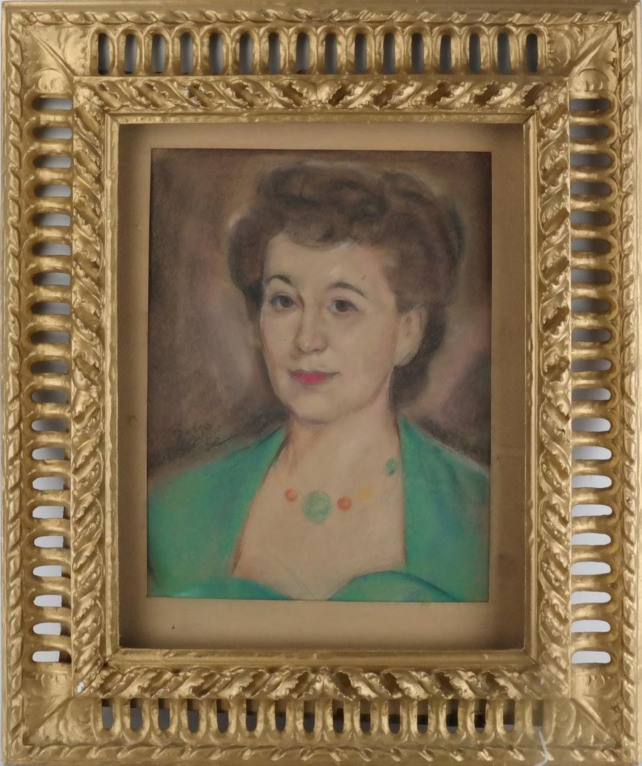 Boyd: Pastel Drawing of a Woman