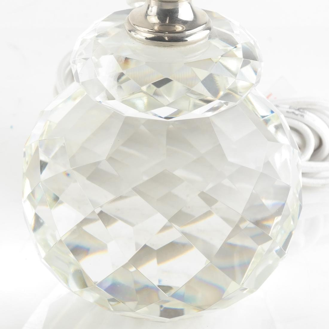 Pair of Crystal Lamps by Ralph Lauren - 3