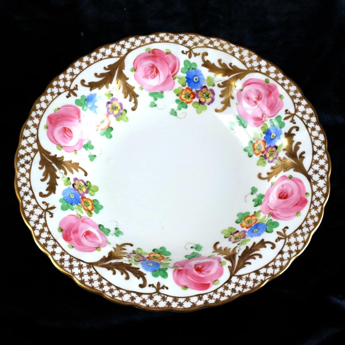 8 Crown, England Floral Decorated Bowls - 3