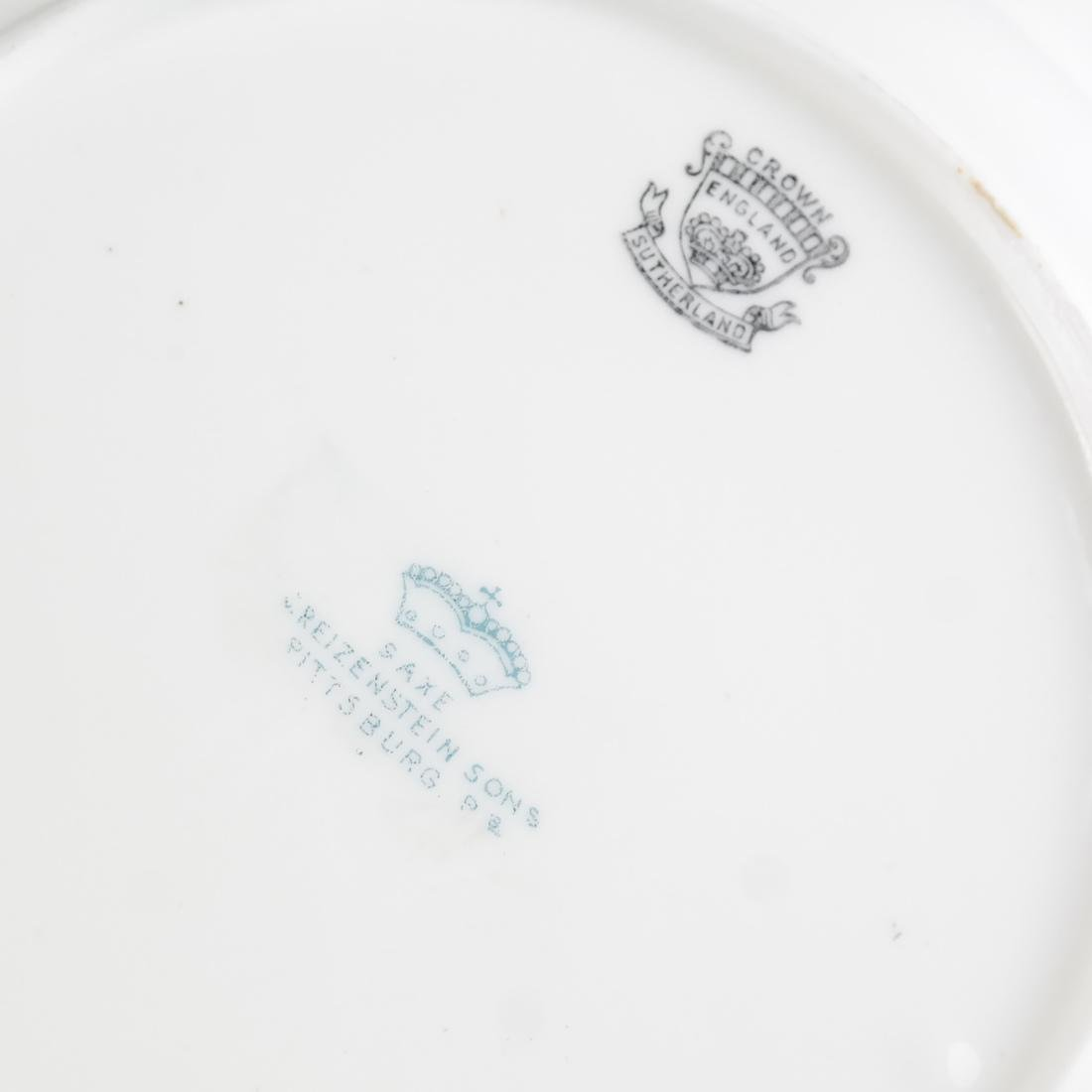 8 Crown, England Floral Decorated Bowls - 5