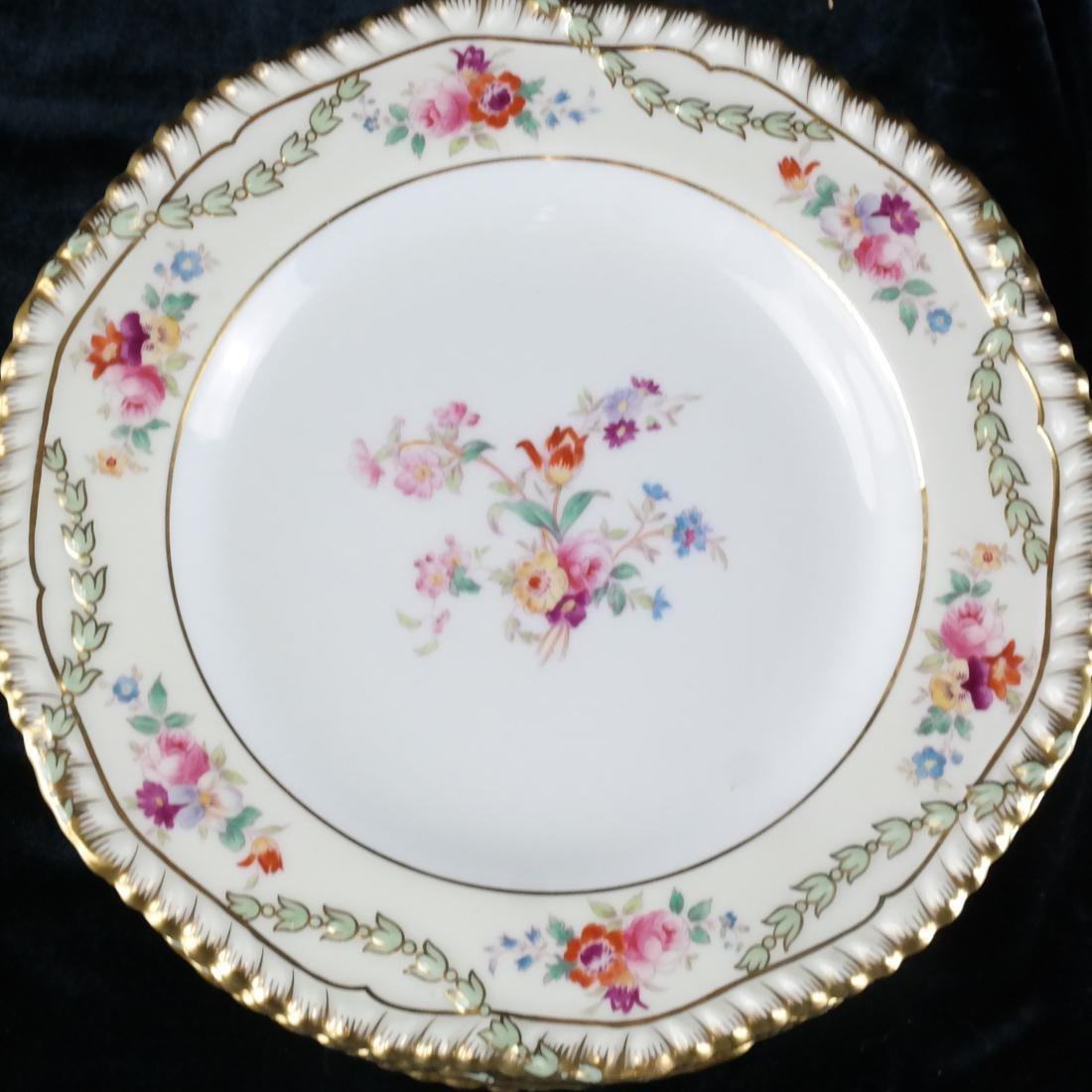 12 Wedgwood Porcelain Luncheon Plates - 2