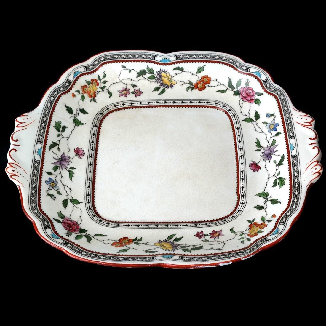 13 Cauldon England Plates - 2