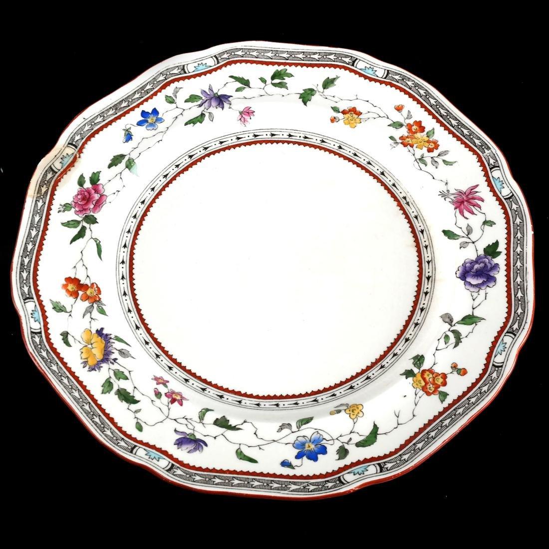 13 Cauldon England Plates - 4