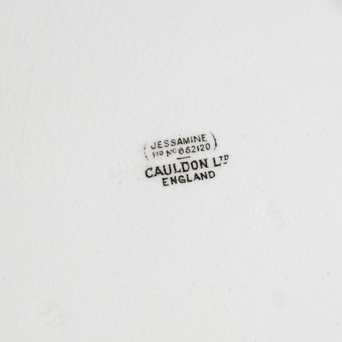 13 Cauldon England Plates - 6