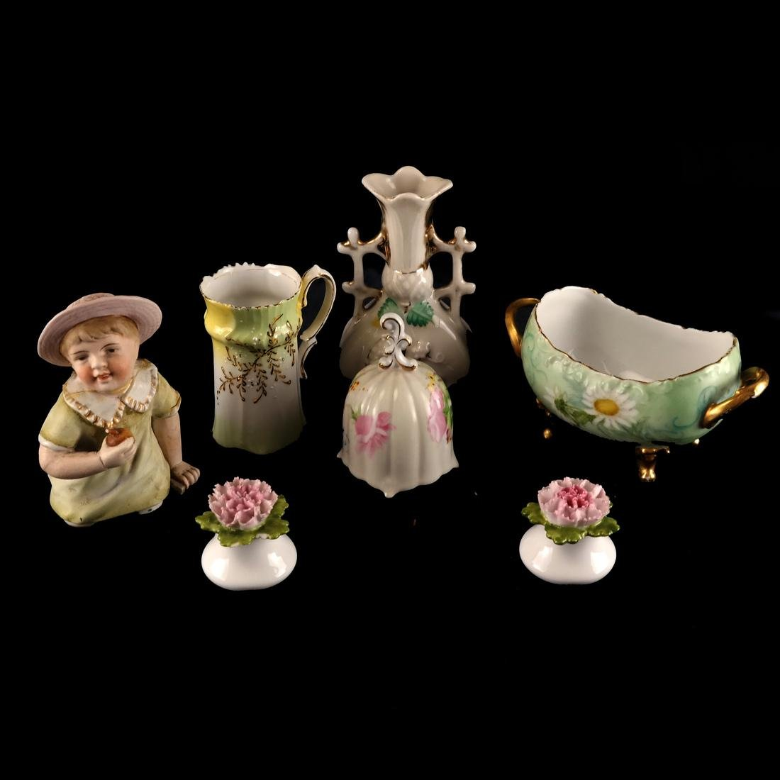 Mixed Lot of Decorated Porcelains and Ceramics - 2