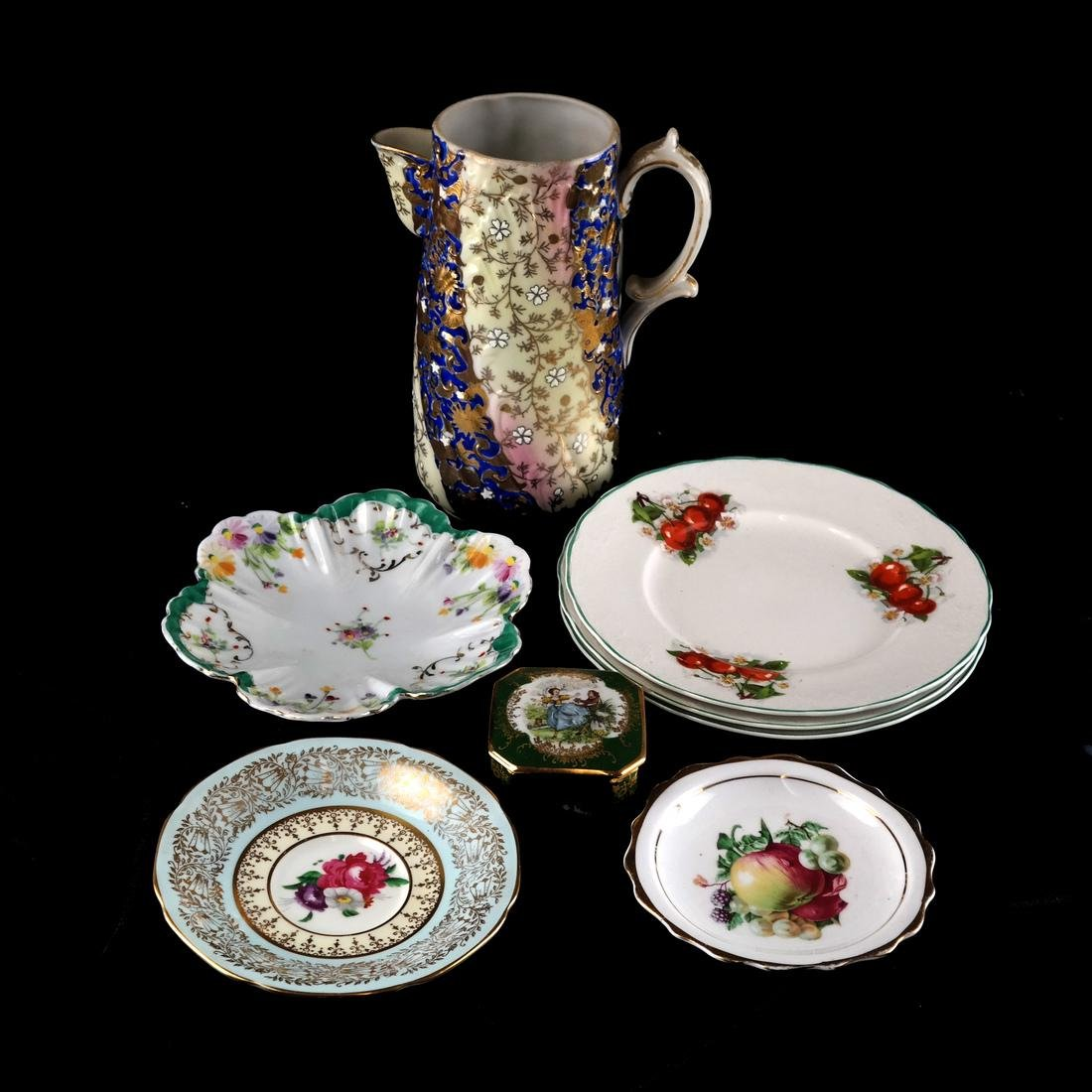 Mixed Lot of Decorated Porcelains and Ceramics - 3