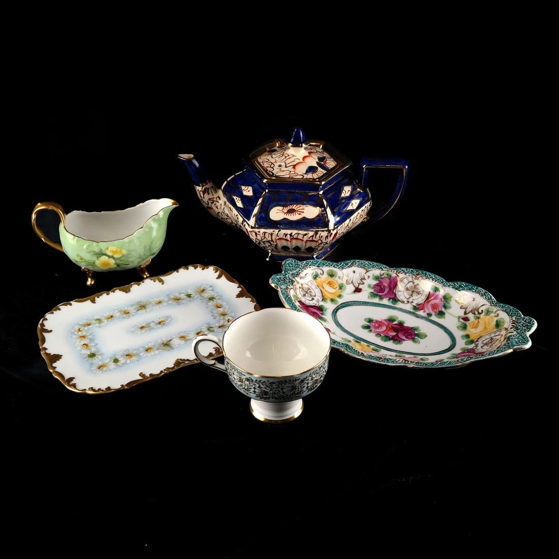 Mixed Lot of Decorated Porcelains and Ceramics - 5