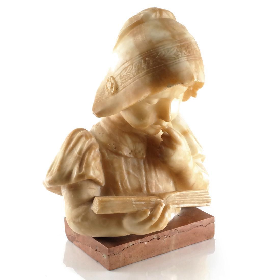Alabaster Bust: Child