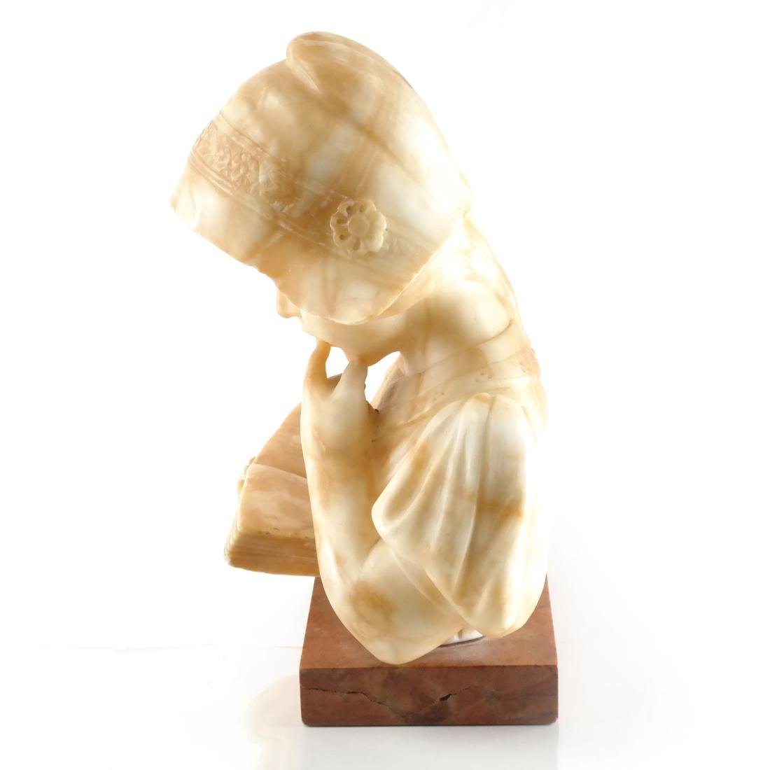 Alabaster Bust: Child - 3