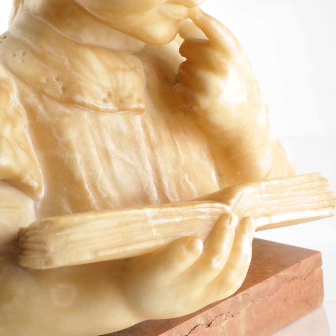 Alabaster Bust: Child - 6