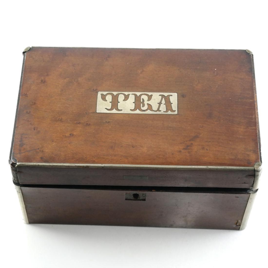 English Tea Caddy - 2