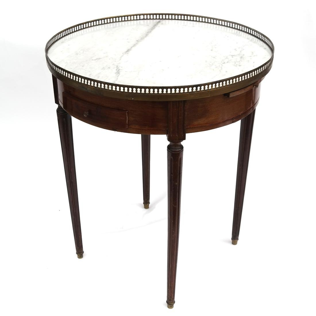 Antique French Bouillotte Table