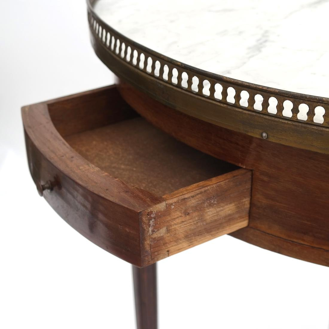 Antique French Bouillotte Table - 3