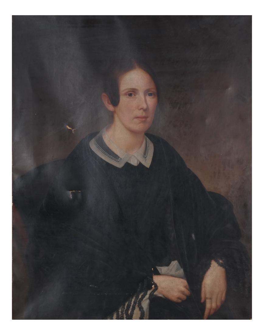 Portrait of Mrs. Keep, Oil on Canvas