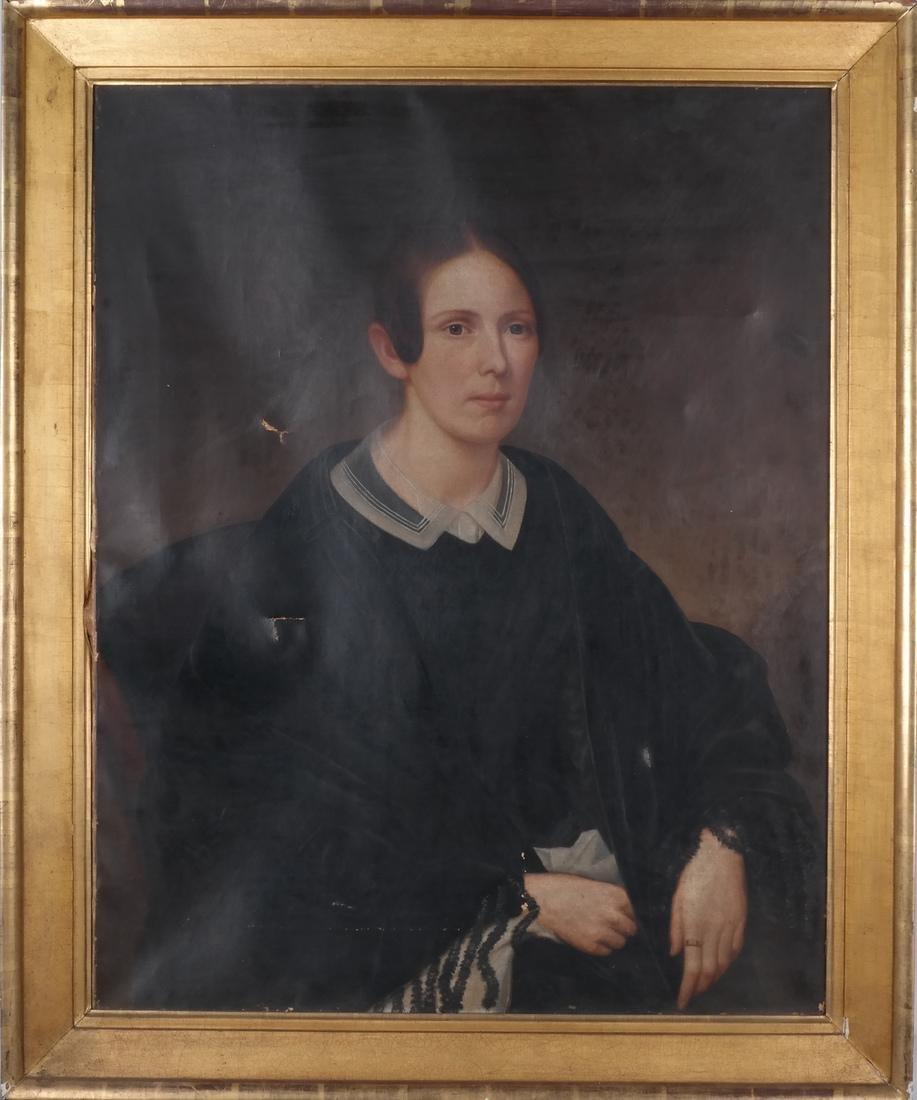 Portrait of Mrs. Keep, Oil on Canvas - 2