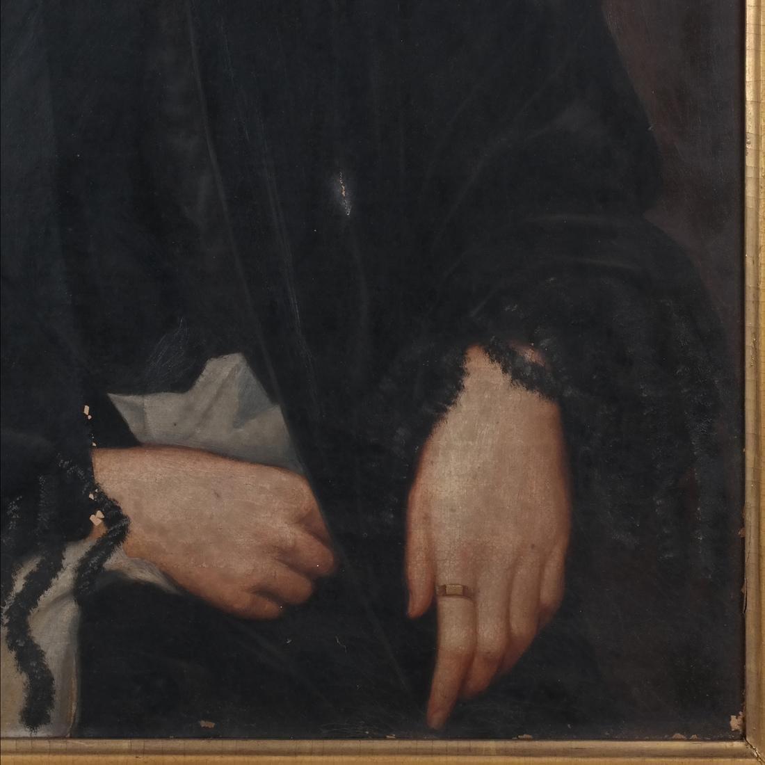 Portrait of Mrs. Keep, Oil on Canvas - 3