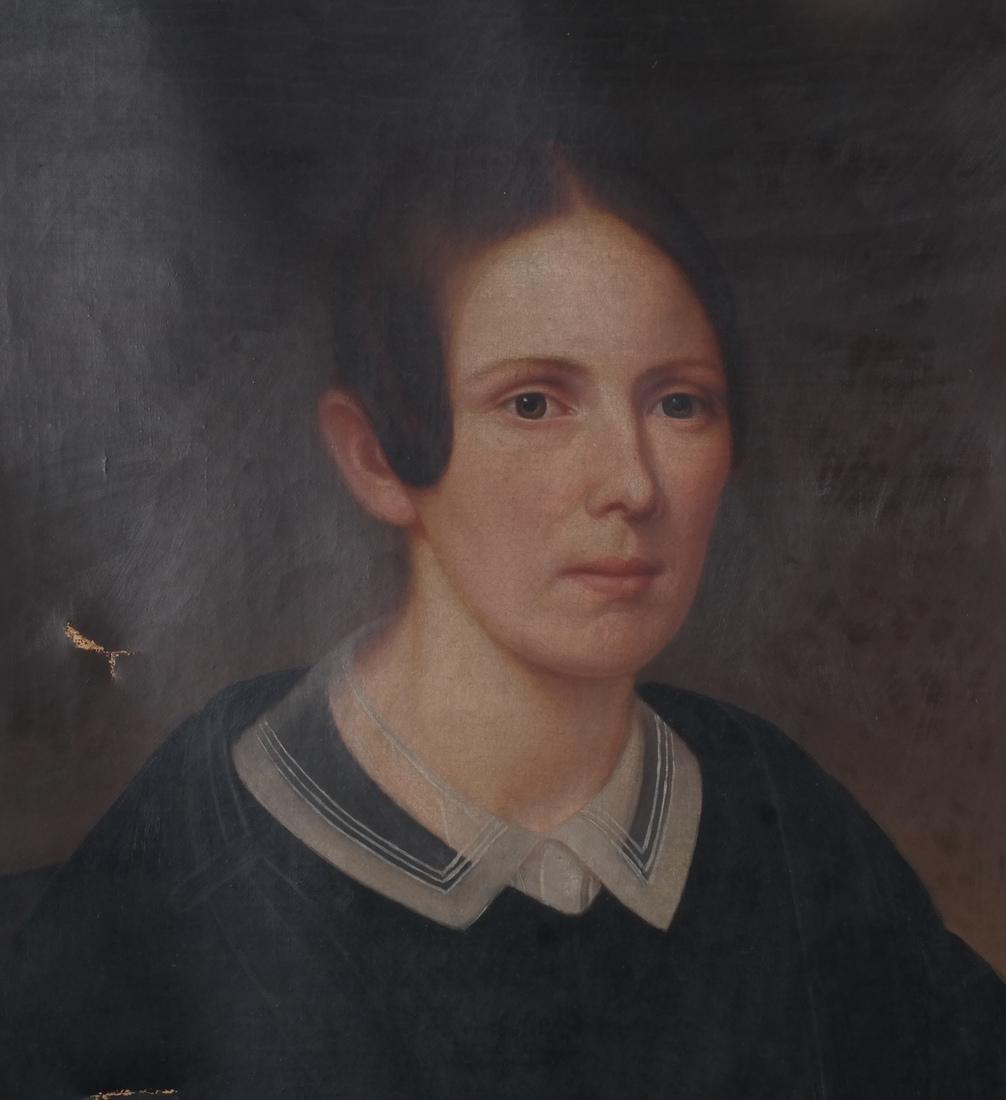 Portrait of Mrs. Keep, Oil on Canvas - 4