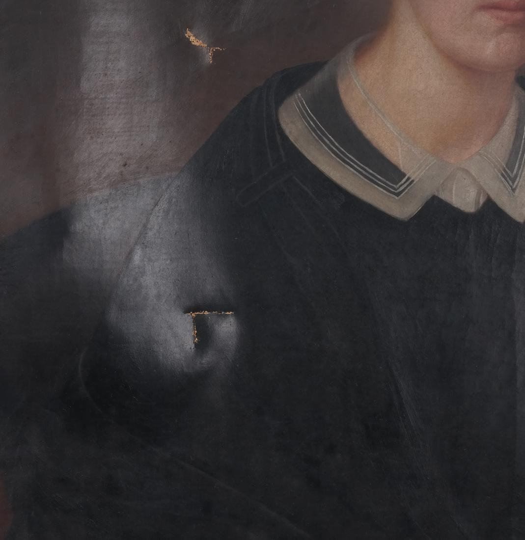 Portrait of Mrs. Keep, Oil on Canvas - 6