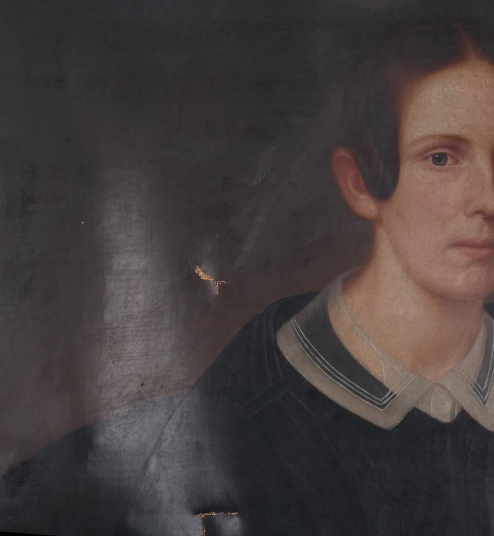 Portrait of Mrs. Keep, Oil on Canvas - 7