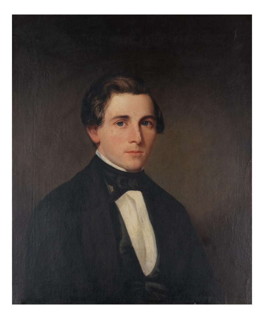 Portrait of Mr. Keep, Oil on Canvas