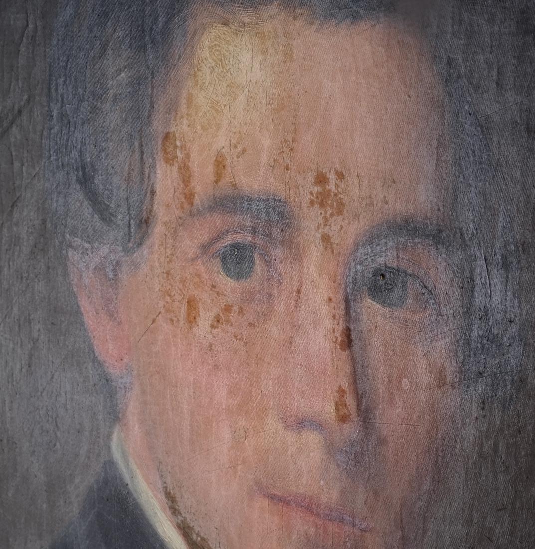 Portrait of Mr. Keep, Oil on Canvas - 6