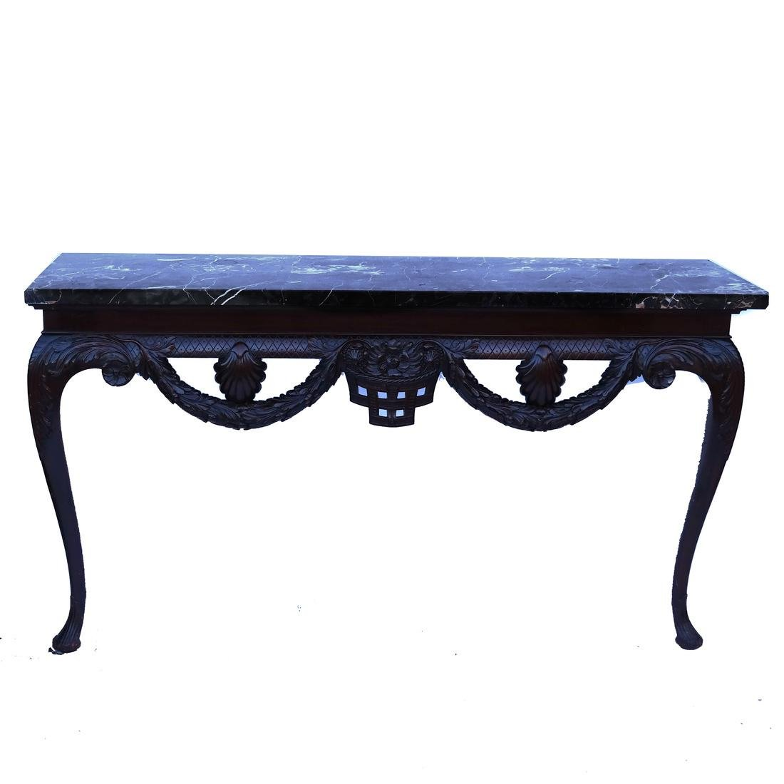 Classical-Style Ornate Wall Console
