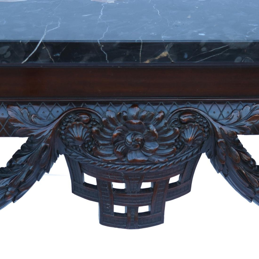 Classical-Style Ornate Wall Console - 3