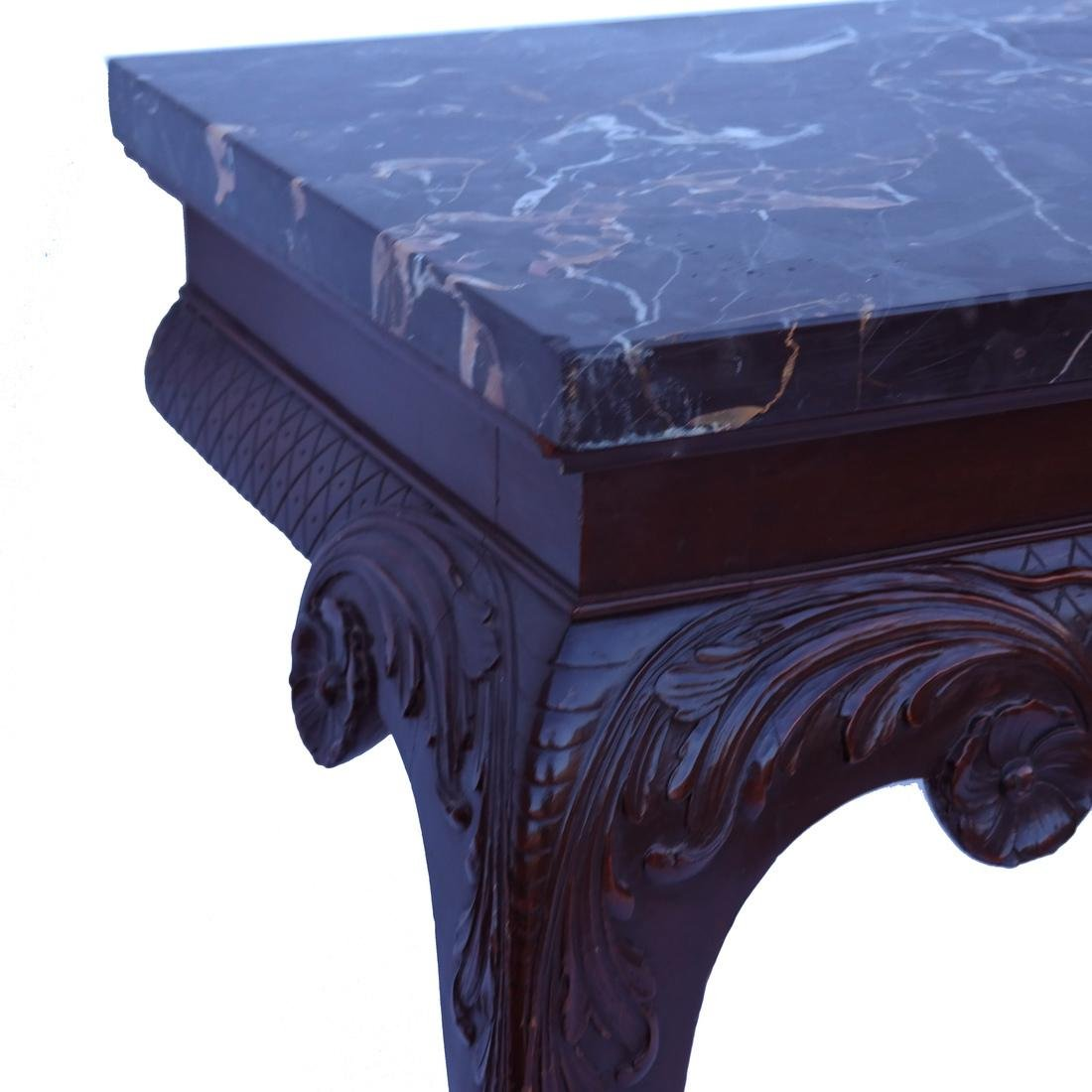 Classical-Style Ornate Wall Console - 4