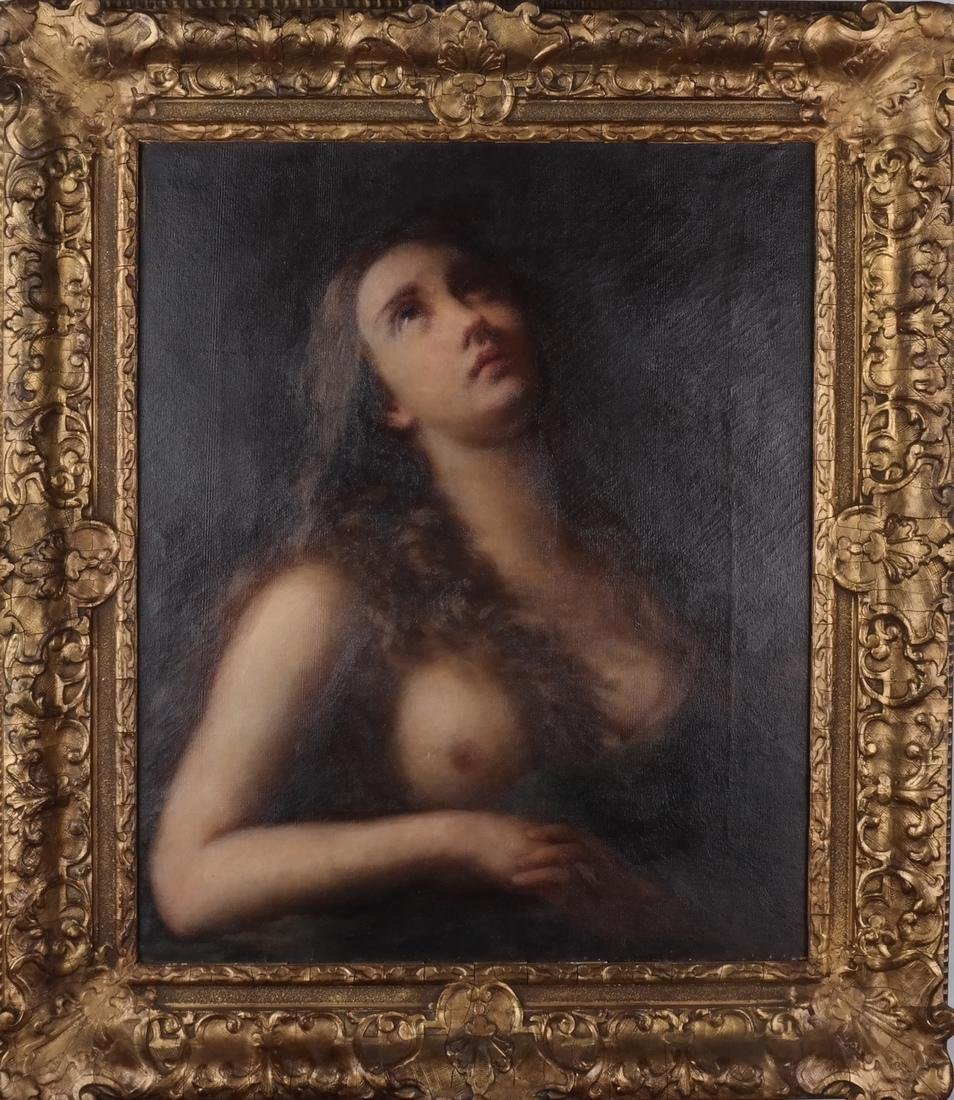 Old Master-Style Female Nude, Portrait