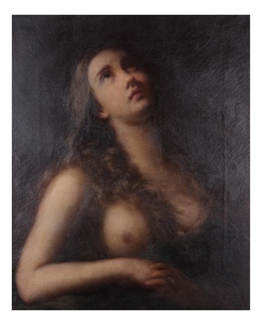 Old Master-Style Female Nude, Portrait - 2