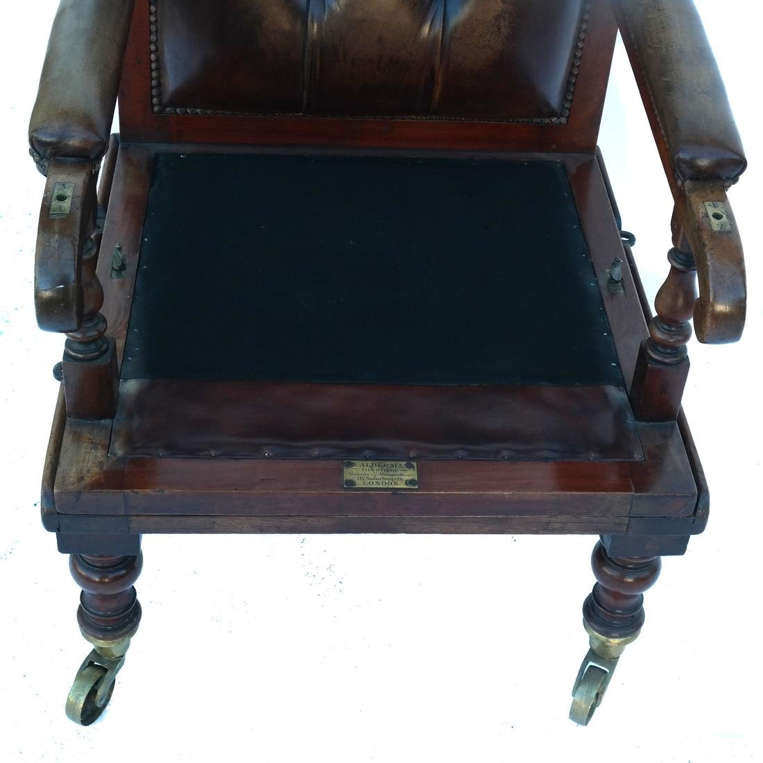 English Regency Campaign Chair - 5