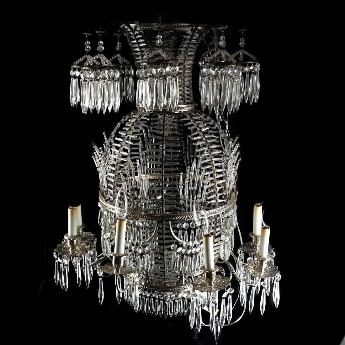 20th Century Modern Vase-Form Chandelier