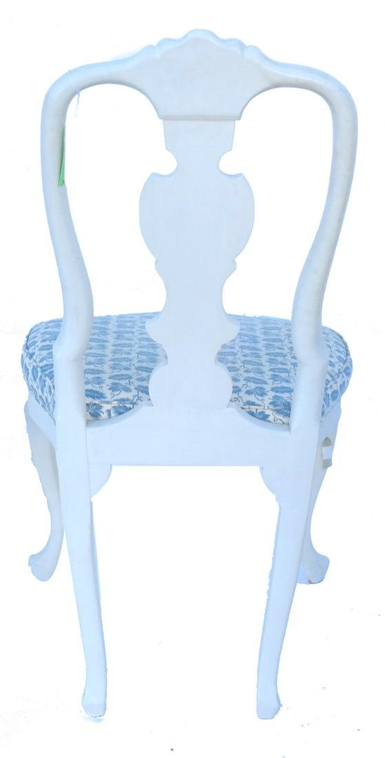 Pair of White Painted Chairs - 6