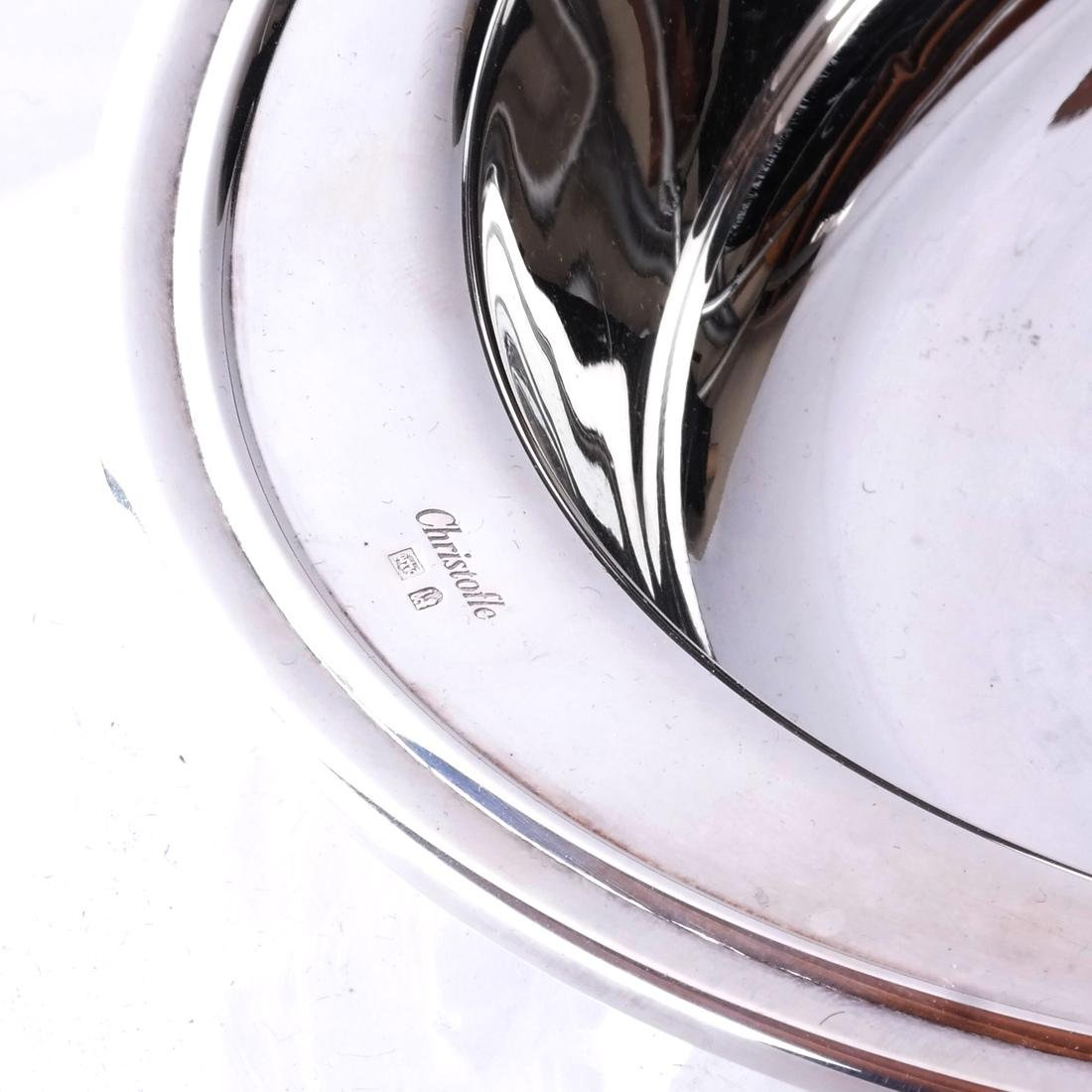 Christofle Silver Plate Deep Dish - 2