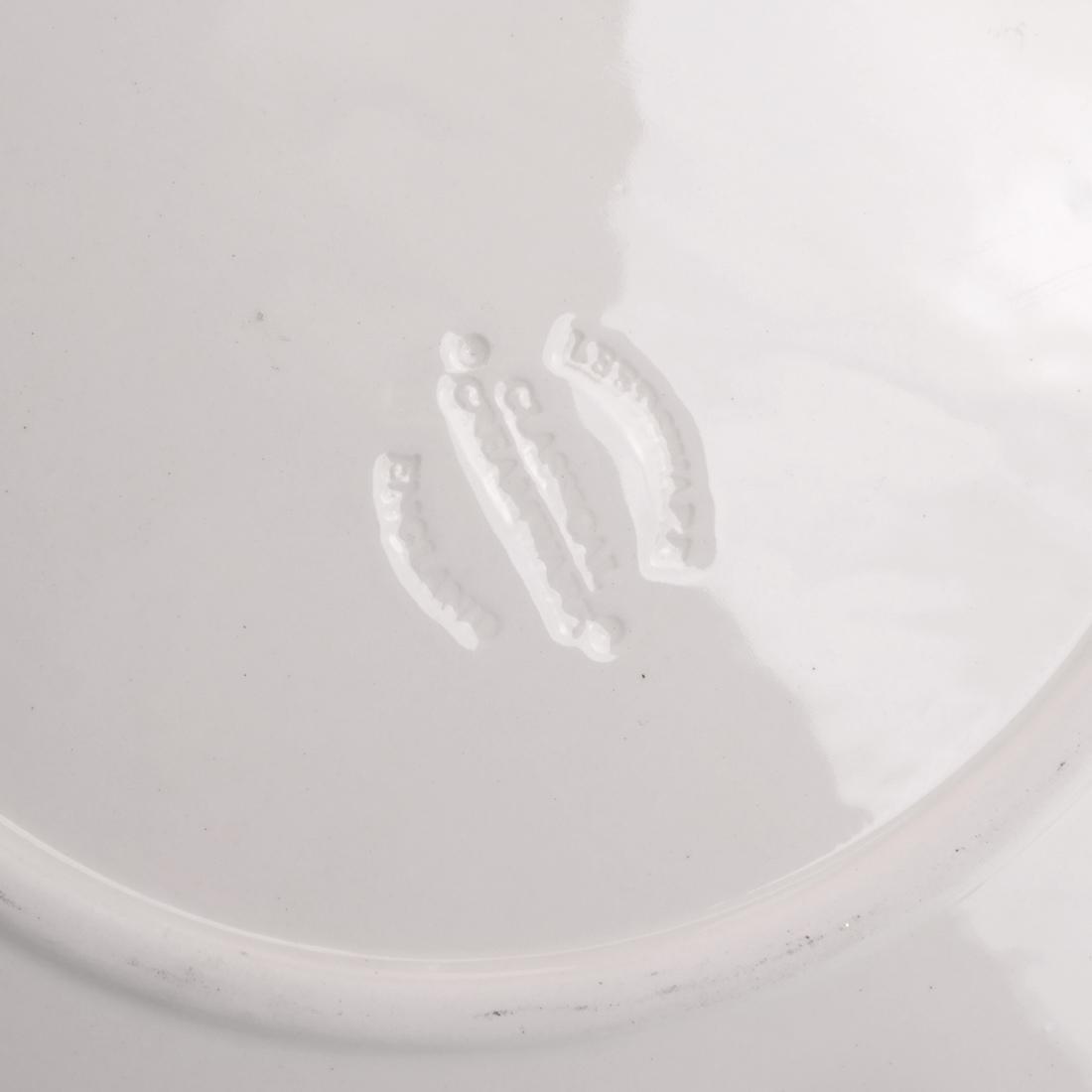 Leedsware, England: Porcelain Tureen & Underplate - 5