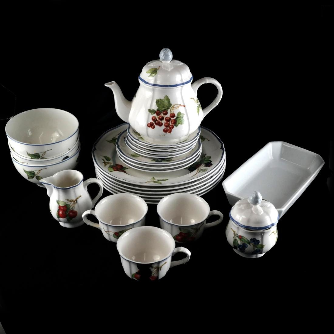 Villery and Boch, Germany: Partial Dinnerware