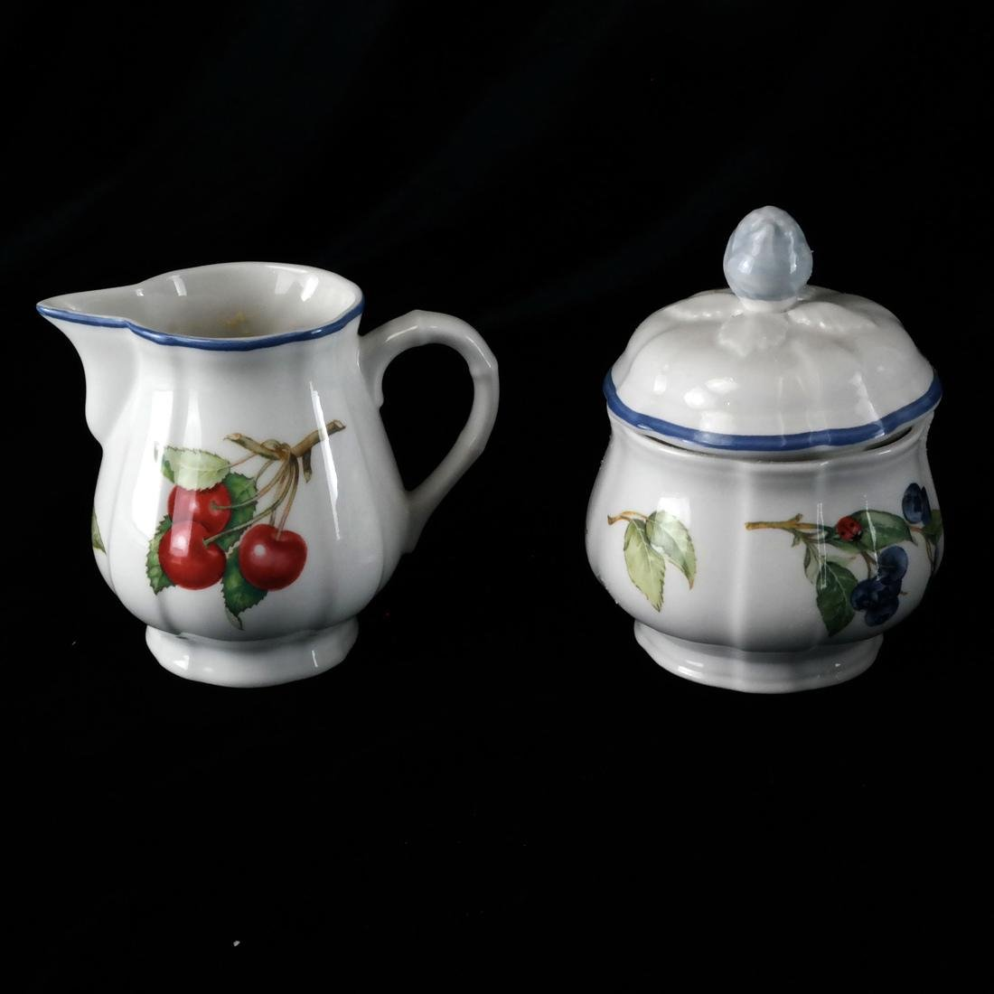 Villery and Boch, Germany: Partial Dinnerware - 4