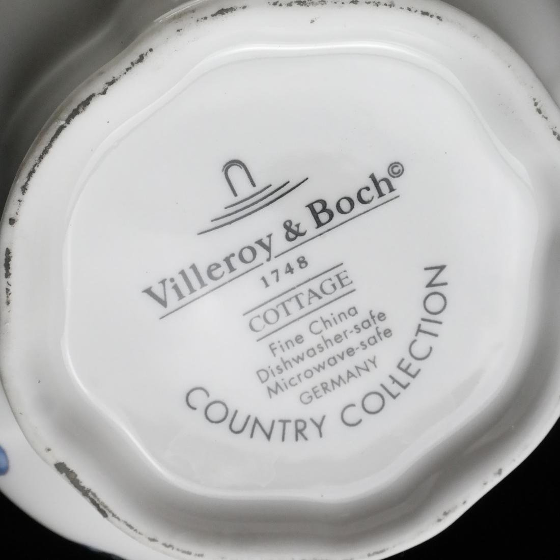 Villery and Boch, Germany: Partial Dinnerware - 5