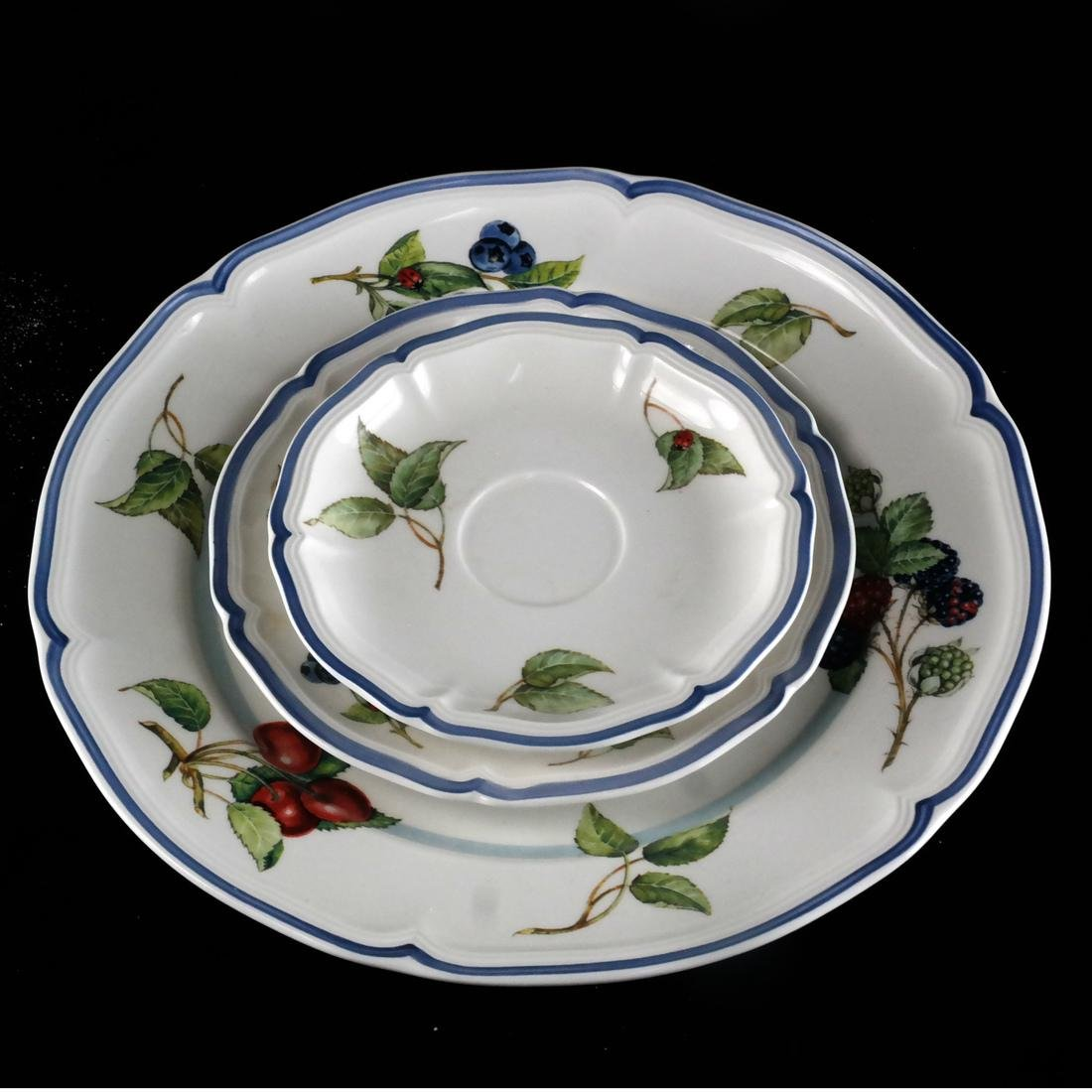Villery and Boch, Germany: Partial Dinnerware - 7