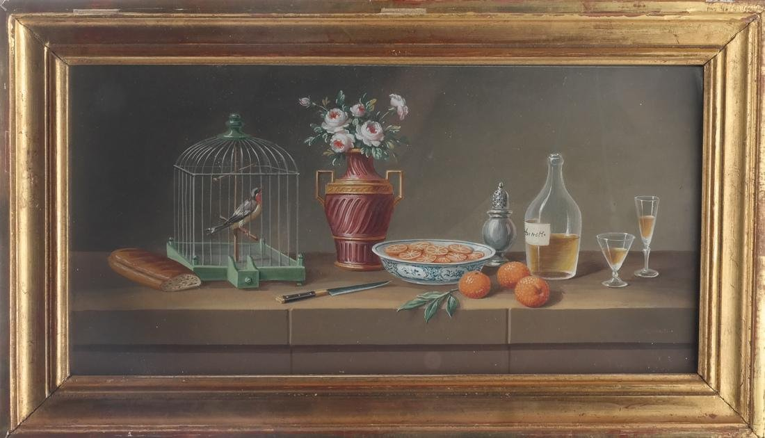 Set of Four Still Lifes: Watercolors - 2