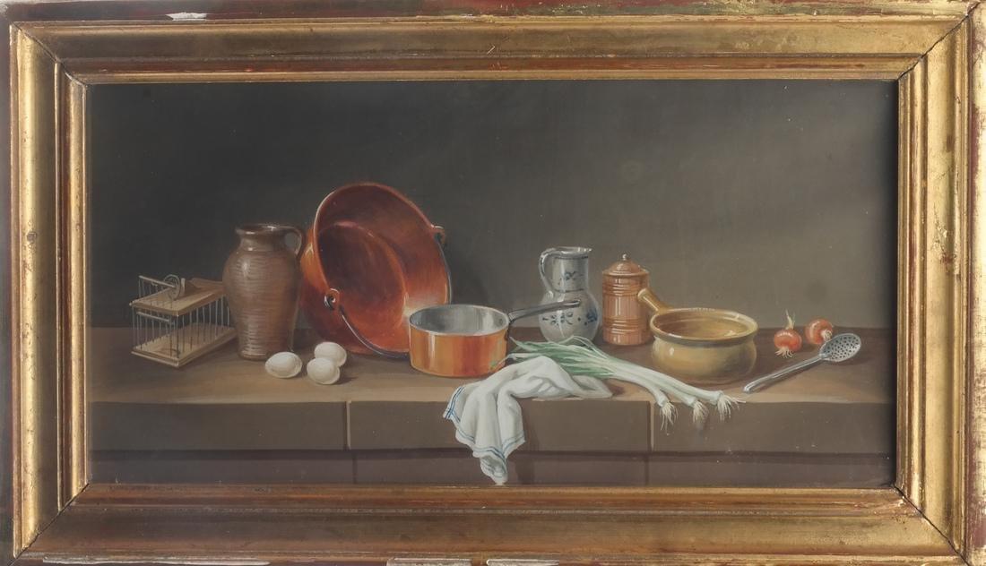 Set of Four Still Lifes: Watercolors - 3