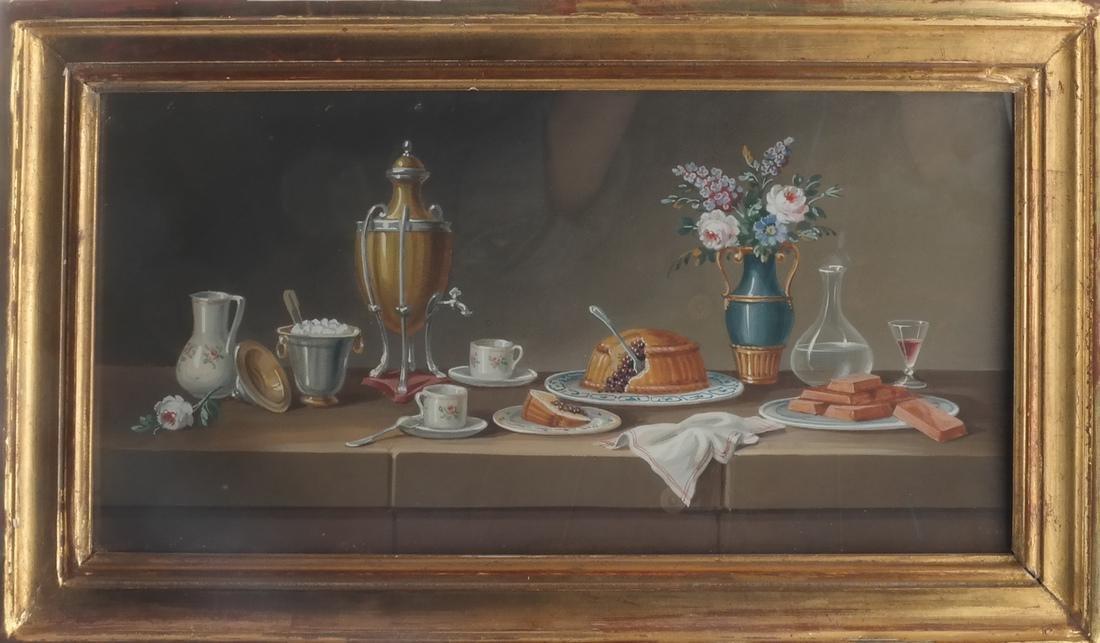 Set of Four Still Lifes: Watercolors - 4