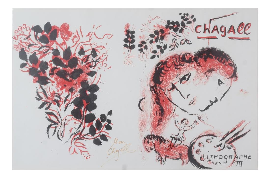 Marc Chagall: Signed Lithograph