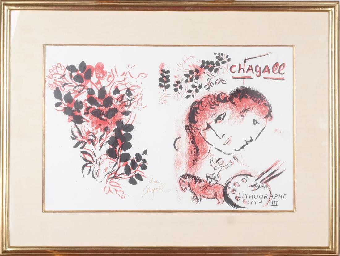 Marc Chagall: Signed Lithograph - 2