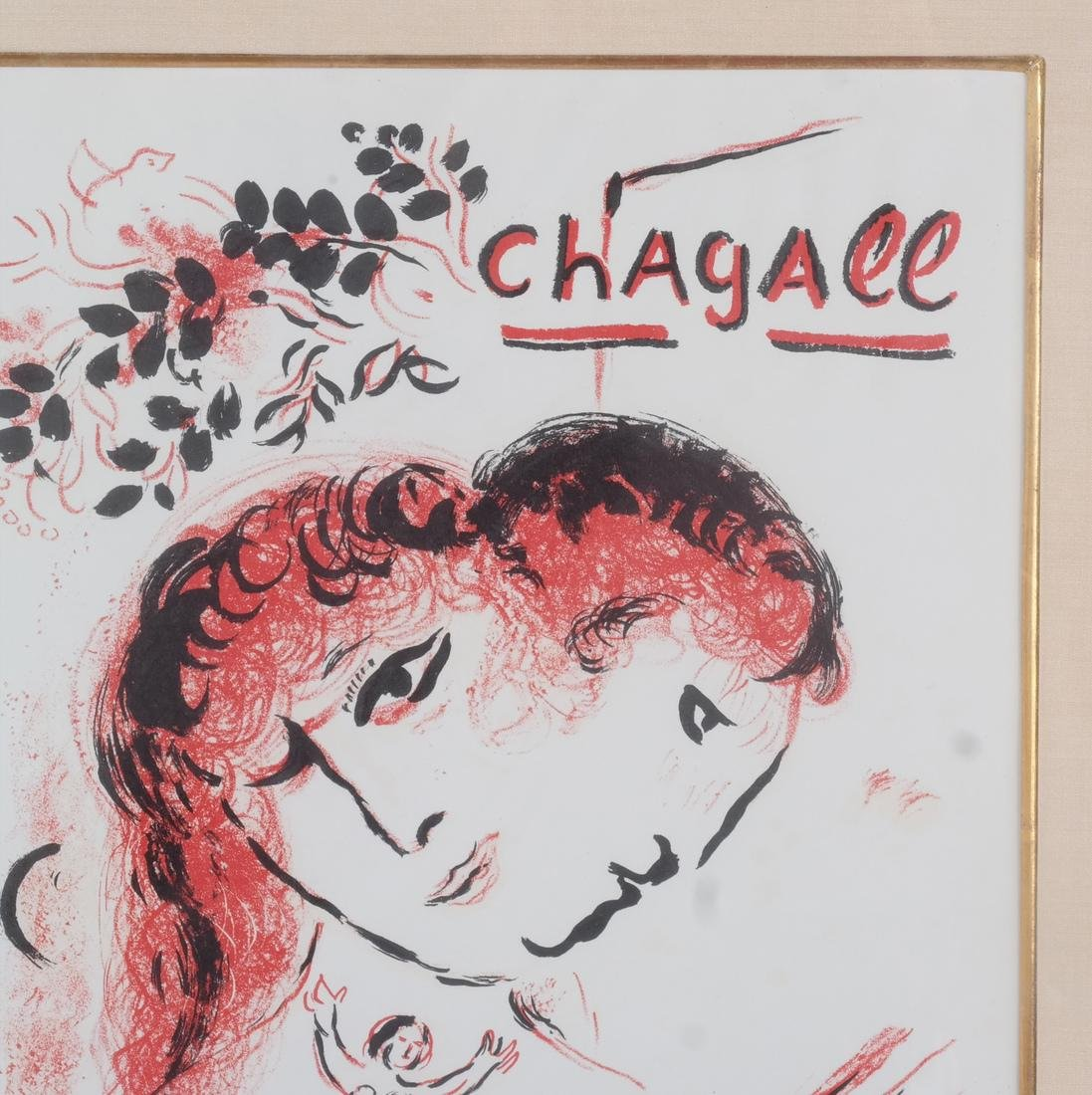 Marc Chagall: Signed Lithograph - 4