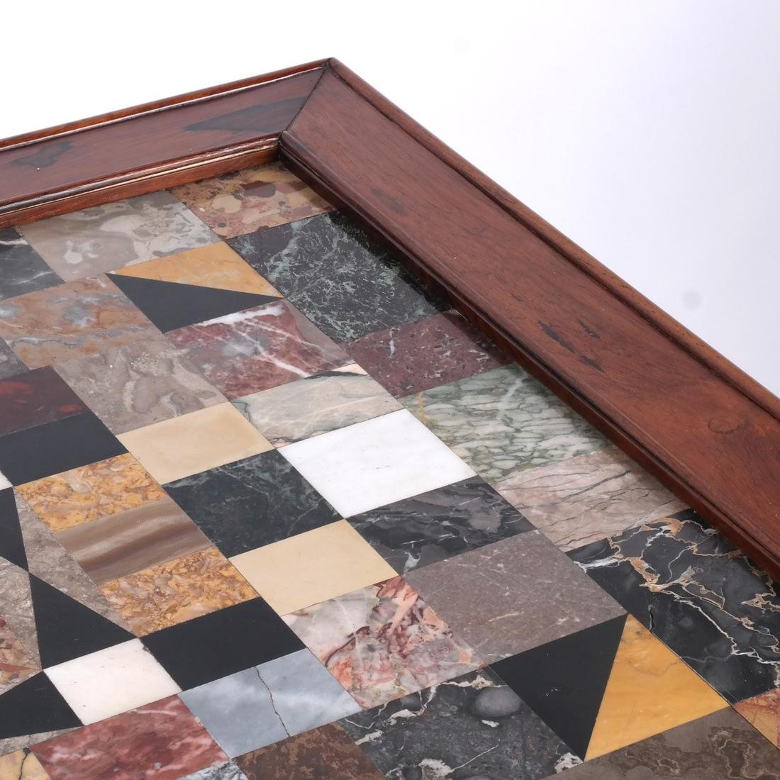 Antique Specimen Marble Top Table - 3