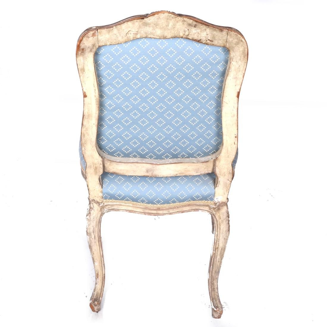 Set of Four Antique Painted Side Chairs - 6